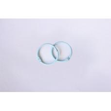 Кольца для альбомов, 2 шт голубые 20 мм