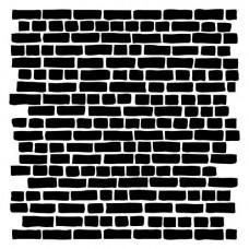 Трафарет Кирпичная стена