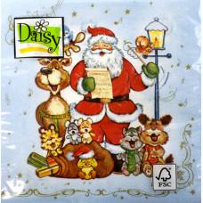 """Салфетки - трехслойные, Daisy,  коллекция """"Рождество"""""""