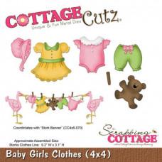 """Нож для вырубки """"Baby Girls Clothes"""""""