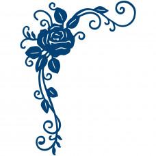 """Нож для вырубки """"Орнамент из розы"""""""