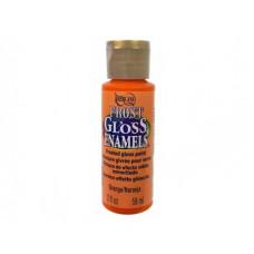 Акриловая краска премиум Americana Frost Gloss Enamels (матовая) 59мл Апельсин