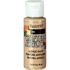 Акриловая краска Crafter's Светло-коричневый 60 мл