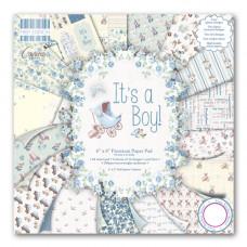 Набор бумаги для скрапбукинга 64 листа It's a Boy
