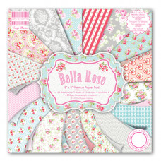 Набор бумаги для скрапбукинга 48 листов Bella Rose