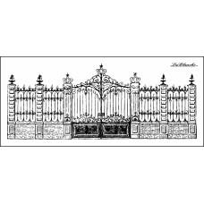 Штамп Stately Gate
