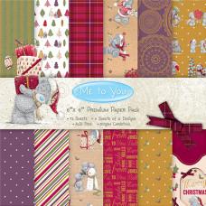Набор бумаги для скрапбукинга 15*15 см 72 листа Me To You Christmas