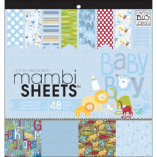 Набор бумаги для скрапбукинга Mambi Sheets Specialty Baby Boy