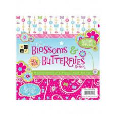 Набор бумаги для скрапбукинга Blossoms & Butterflies
