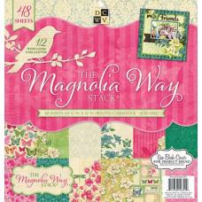 """Набор бумаги """"Magnolia Garden Stack """" 48 листов"""