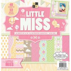 Набор бумаги для скрапбукинга The Little miss