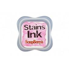 Чернила с эффектом цветовых пятен Стэинс Розовый