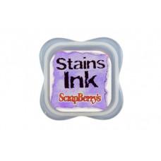 Чернила с эффектом цветовых пятен Стэинс Пурпурный