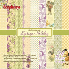 Набор бумаги Весенний Праздник 24 листа