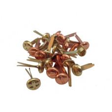 Набор брадсов винтики 5 мм состаренные металлик, 25 шт