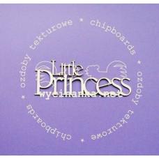 Польский чипбор Надпись Little princess
