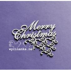 Польский чипбор надпись счастливого рождества