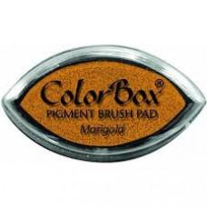 "Штемпельная подушка""ColorBox Pigment"" желтый"
