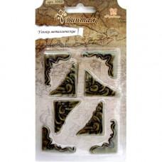 Уголки металлические (Винтаж), 8 шт