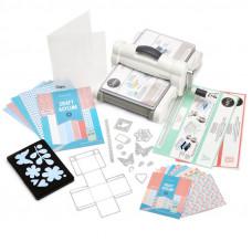 Машинка для вырубки и тиснения - Sizzix Big Shot NEW Plus Starter Kit - A4 - White