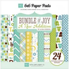 Набор бумаги для скрапукинга Bundle Of Joy/A New Addition - Baby Boy - 15х15