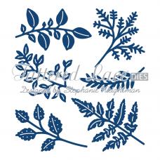 Набор ножей для вырубки - Ornate Leaves