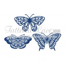 Набор ножей для вырубки - Butterflies 3