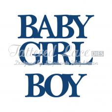 Набор ножей для вырубки - Baby, Boy and Girl Classic