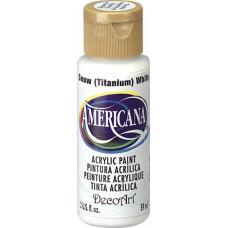 Акриловая краска Премиум Americana Белоснежный 60 мл