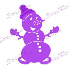 Нож для вырубки Snowman (Снеговик)