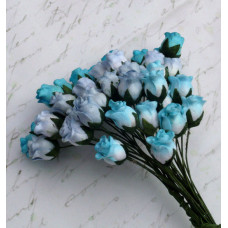 Розы бутоны «Голубой  микс»