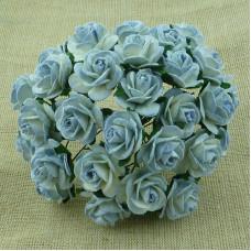 """Розы 15 мм """"Голубо-Синие"""""""