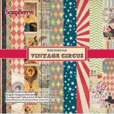 Набор бумаги для скрапбукинга 15х15 Старый цирк