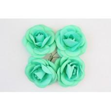 Розы, 4 шт. 5см бирюзовые