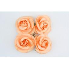 Розы, 4 шт. 5см кремовые