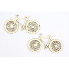 Лазерные вырубки из дерева - Велосипед