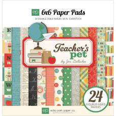 Набор бумаги для скрапбукинга 15*15 Teacher's Pet