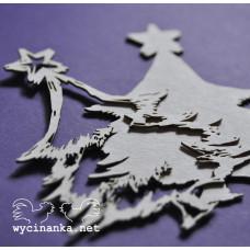 Польский чипборт Елочка со звездой