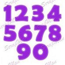 Набор ножей для вырубки Set Figures-2 (Цифры-2)