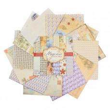 """Набор бумаги для скрапбукинга """"Одиссея"""" 29,5 х 29,5"""