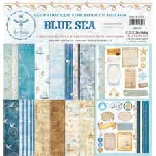 Набор бумаги BLUE SEA 30х30