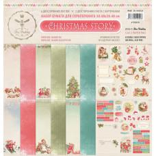 """Набор двусторонней бумаги для скрапбукинга """"CHRISTMAS STORY"""" из коллекции """"CHRISTMAS STORY"""""""