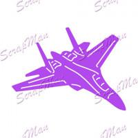 Нож для вырубки Military Plane-2 (Военный самолет)