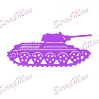 Нож для вырубки Military Tank (Военный танк)