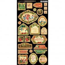 Чипборд St Nicholas Decorative