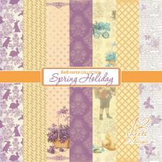 Набор бумаги Весенний Праздник 15х15