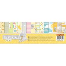 Набор бумаги для скрапбукинга 30,5х30,5 Веселое детство