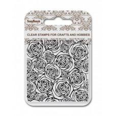 Набор штампов - Фоновый штамп Розы