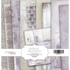 Набор односторонней бумаги 20х20 French Provence