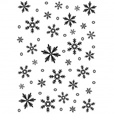 Папка для тиснения SNOWFLAKE